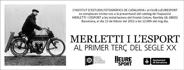 Merletti i l'esport al primer terç del segle XX